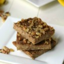 3 Ingredient Peanut Butter Banana Bars Recipe